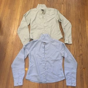 North Face   2 Button Down Shirts Very Soft S